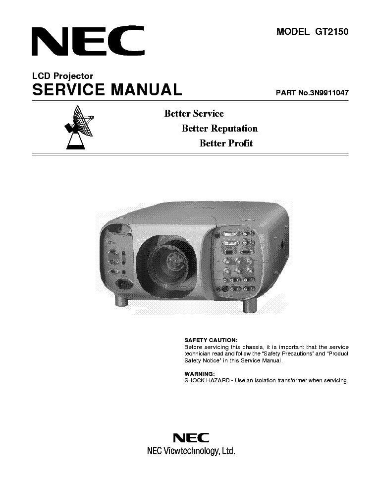 nec vt 460 vt 560 vt 660 service manual download schematics eeprom rh elektrotanya com VW LT 45 Camper Volkswagen LT 28