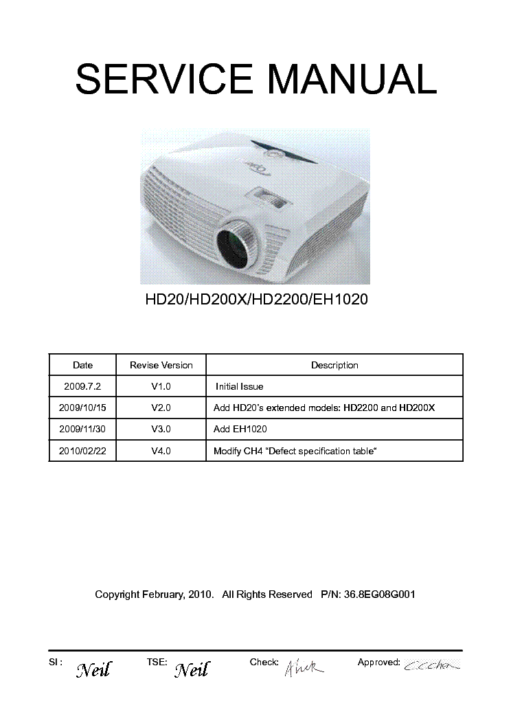 optoma hd20 hd200x hd2200 eh1020 service manual download schematics rh elektrotanya com optoma hd20 manuel optoma hd20 manuel