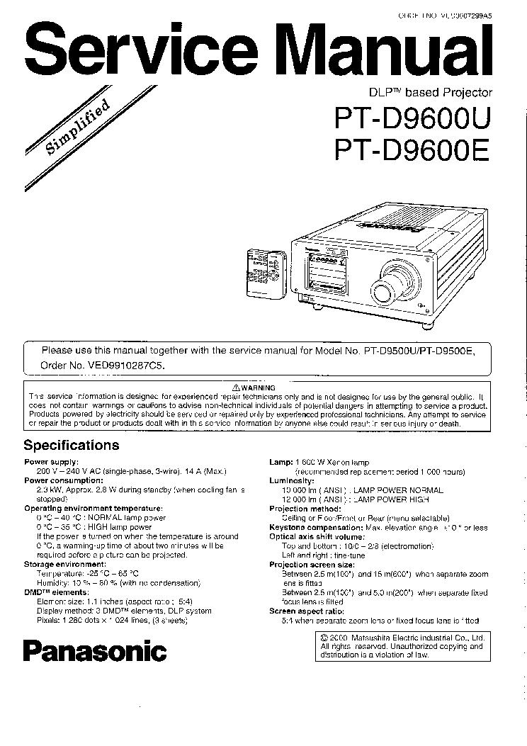 Panasonic pt-ae900u e service manual download, schematics, eeprom.