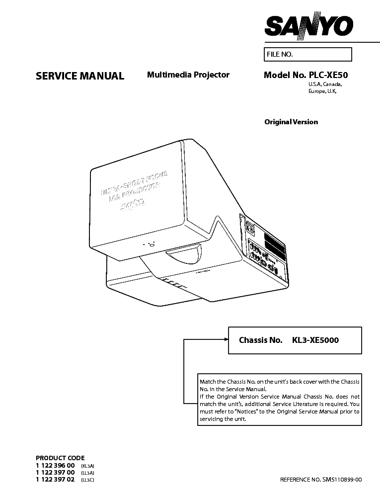 Basic operation, turning on the projector | sanyo plc-xe50 manuel.