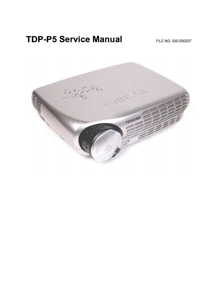 toshiba tdp p5 sm service manual download schematics eeprom rh elektrotanya com toshiba tdp-p5 service manual Toshiba 55HT1U Manual