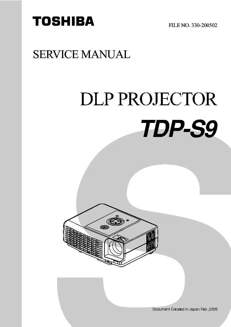 toshiba tdp s9 service manual download schematics eeprom repair rh elektrotanya com Toshiba TV Manual Televisions Toshiba Laptop Repair Manual