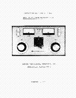 ALPHA PA77 LINEAR-AMP SM service manual