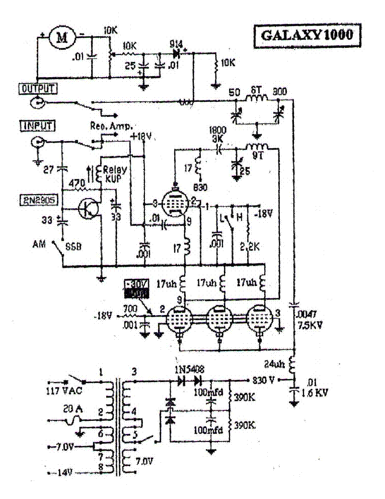 Bearcat Dx 1000 Schematic Diagram Manual