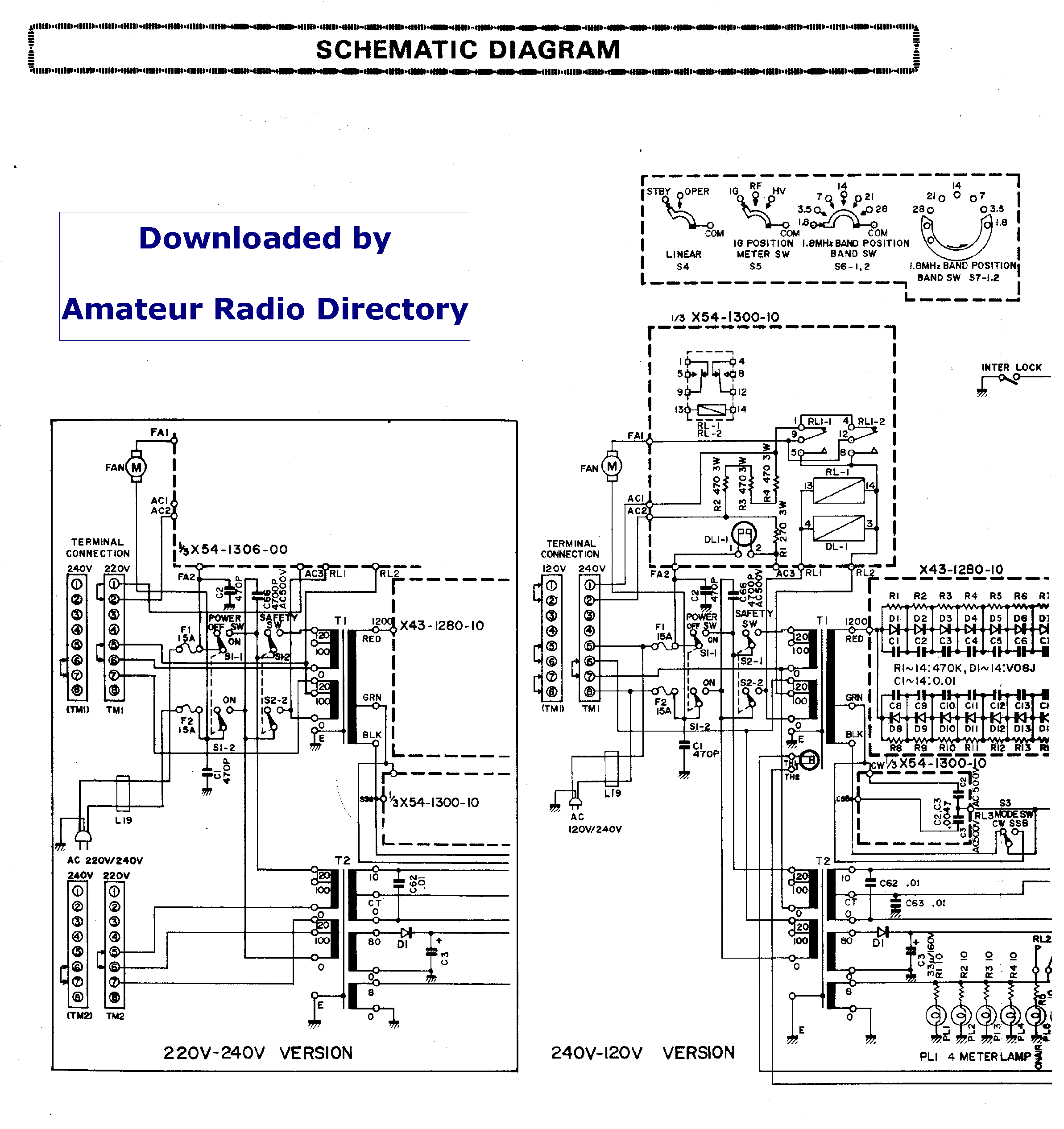 kenwood tl-922 sch service manual download, schematics ... kenwood radio wiring back kenwood radio schematic