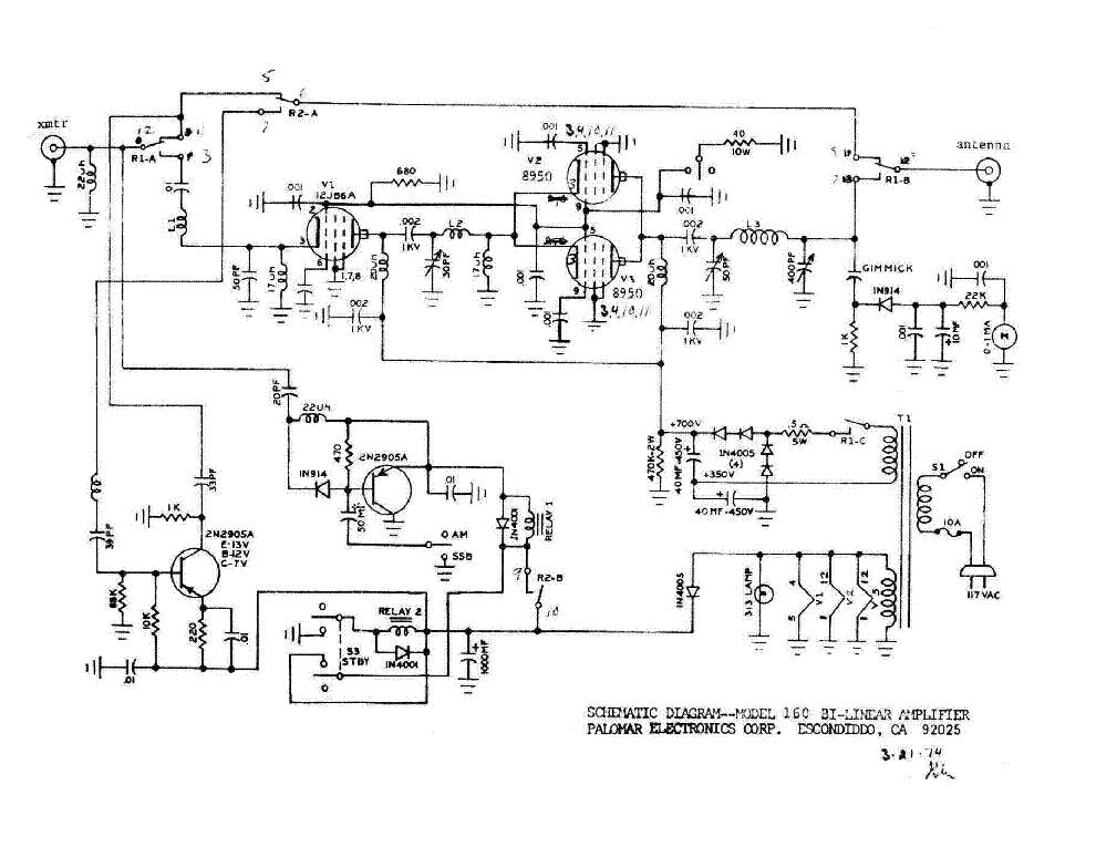 Rf Attenuator Circuit Diagram together with Williamson  lifier Schematic further Tube Rf  lifier Schematic likewise 3 500z  lifier Schematic likewise Vhf Linear Lifier Schematics. on tube linear lifier cb radio