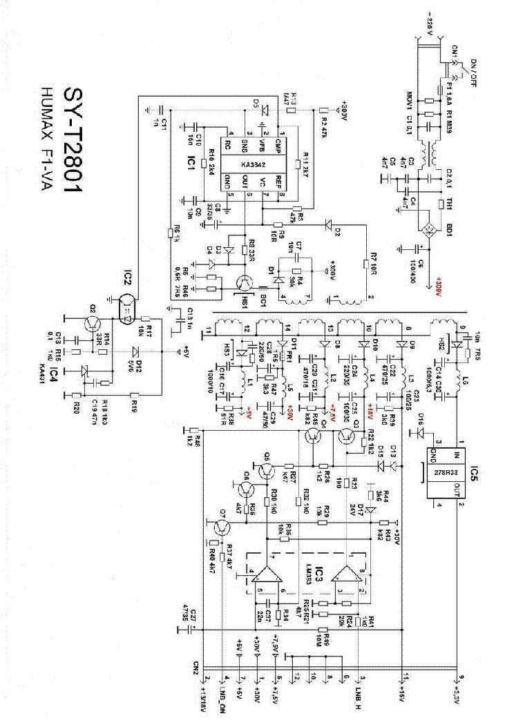 Humax F1 VA Компьютерный