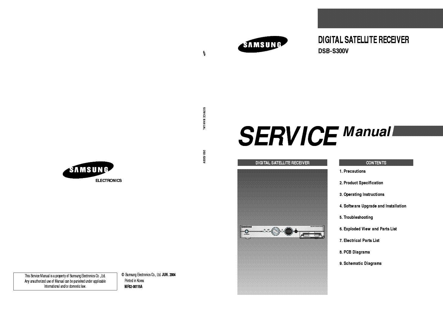 Инструкция samsung dsb 5300v скачать