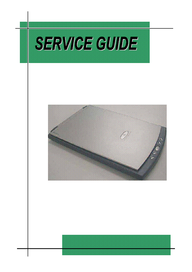 GENIUS COLORPAGE-SLIM1200-E service manual (1st page)