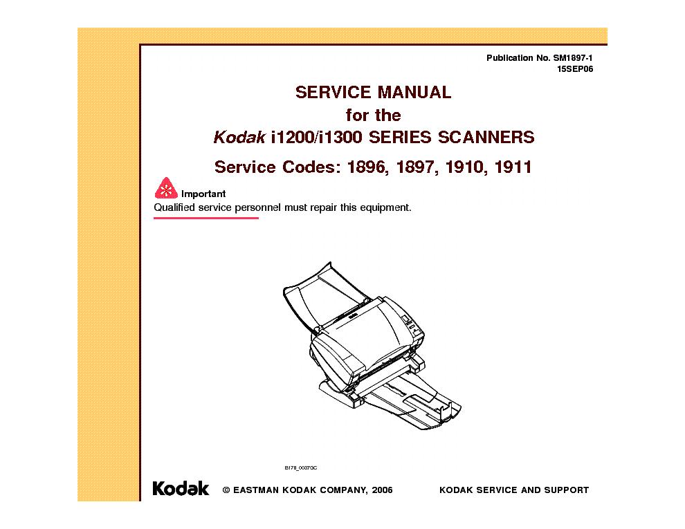 kodak i1200 i1300 service manual download schematics eeprom rh elektrotanya com kodak i1220 scanner manual kodak i2900 scanner manual