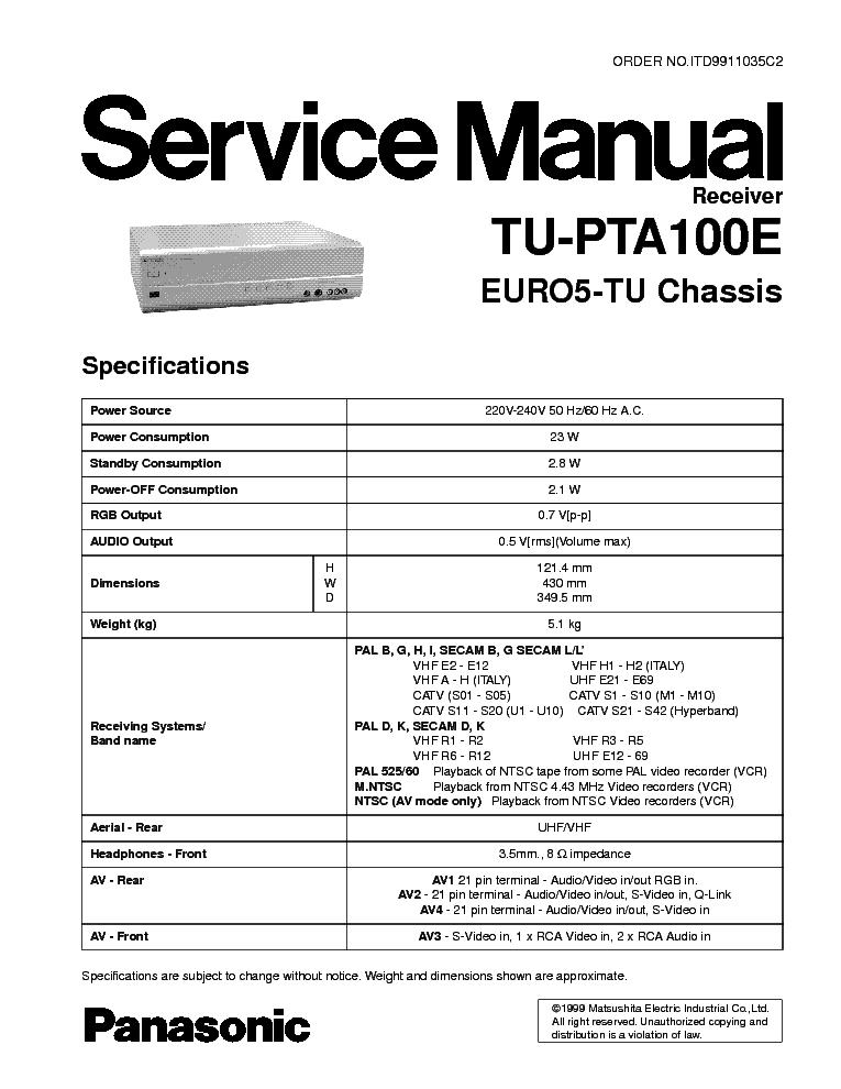 Panasonic scanner kv s1025c
