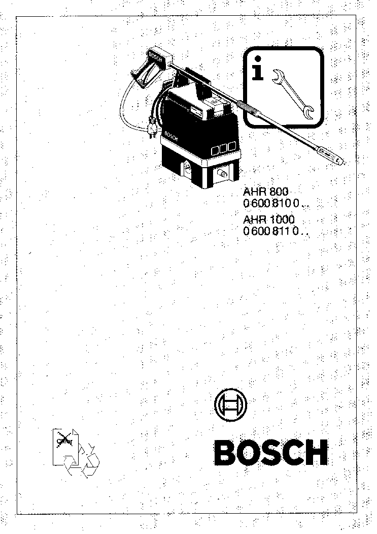 Bosch silence plus 50 dba manual