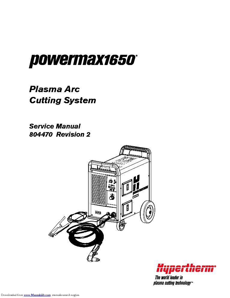 hypertherm_powermax1650_sm.pdf_1 hypertherm powermax1650 sm service manual download, schematics hypertherm powermax 1650 wiring diagram at gsmx.co