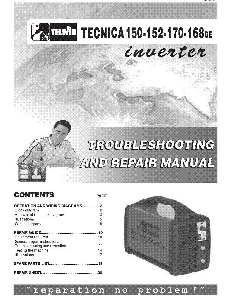 Telwin 140 welding machine service manual download schematics telwin swarovskicordoba Gallery
