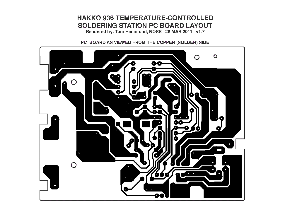 HAKKO 936 SCHEMATIC Service Manual download, schematics ... on