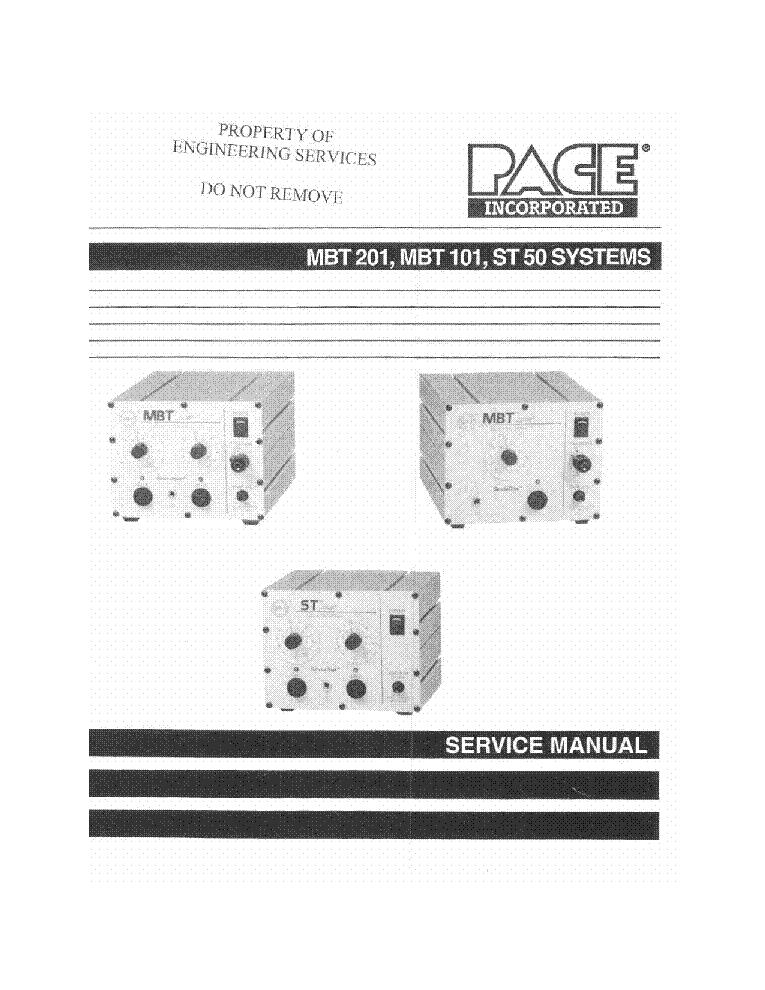 Pace St-50 инструкция - фото 3