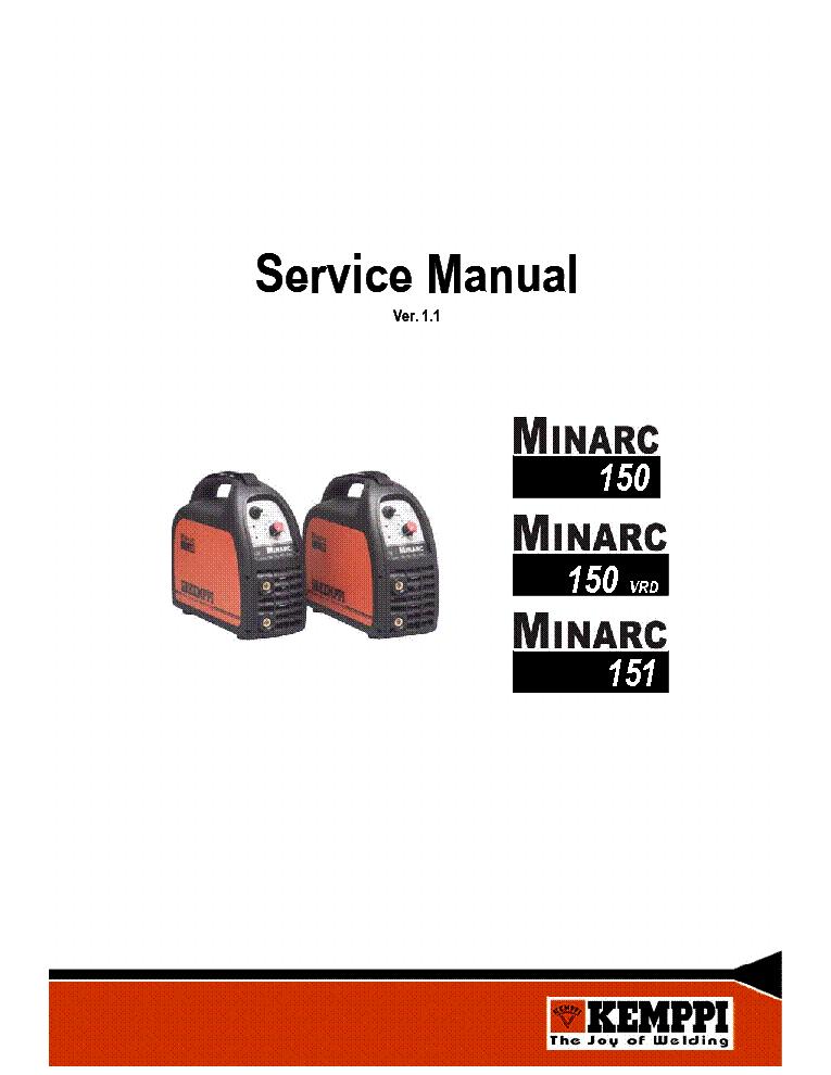 KEMPPI MINARC 150-VRD 151