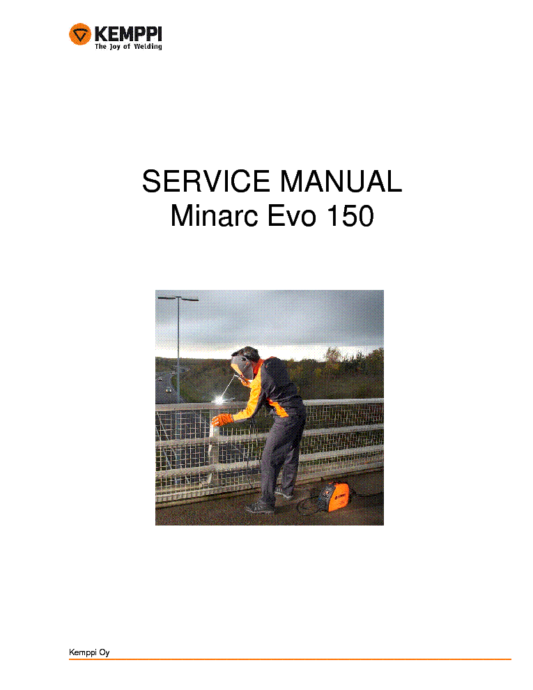 Kemppi minarc 150 manual