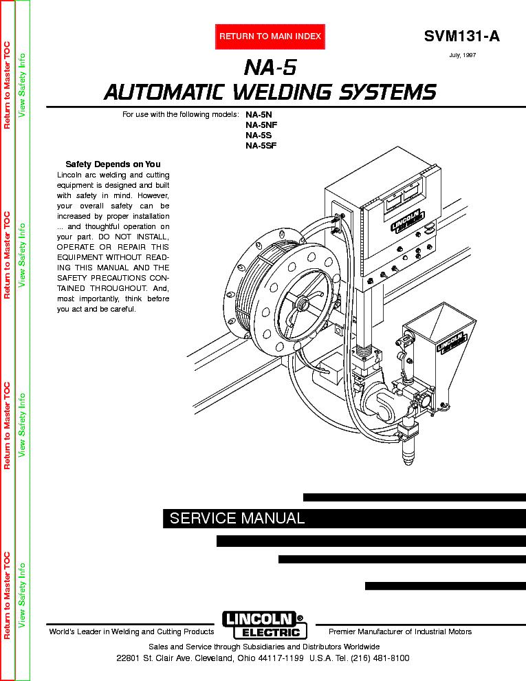 Lincoln electric svm178-b vantage 500 service manual download.