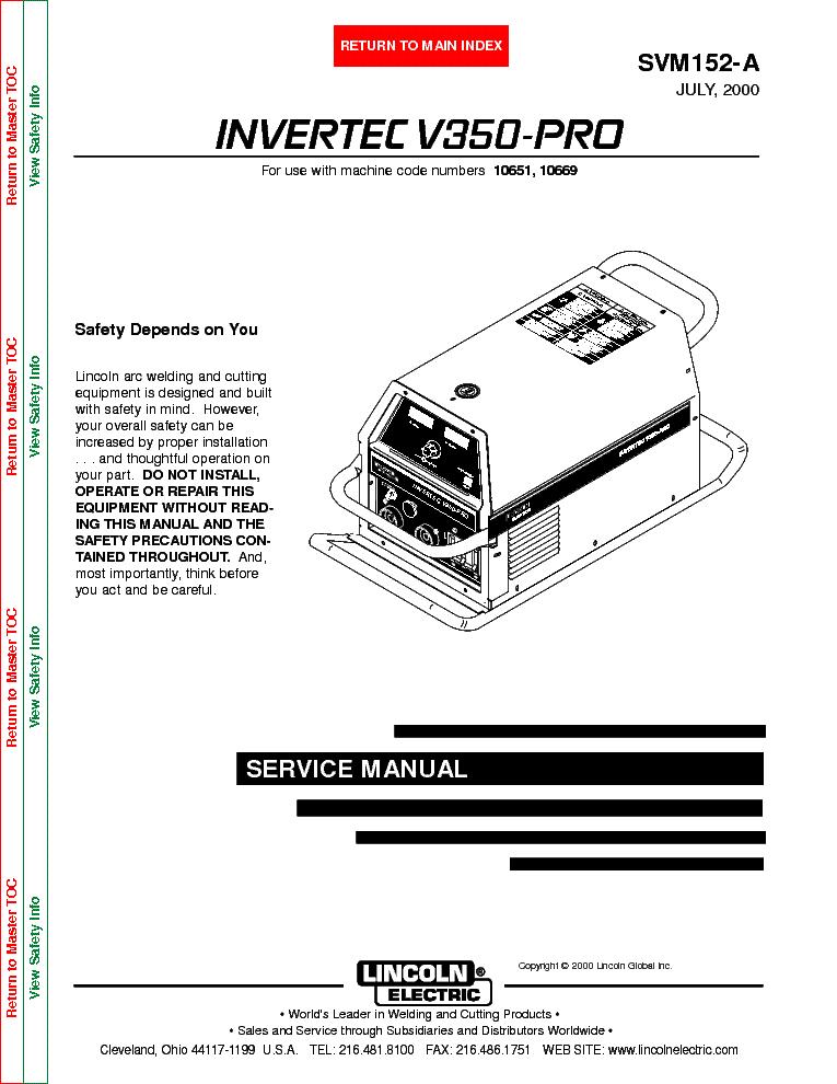 Invertec V350-pro инструкция - фото 5