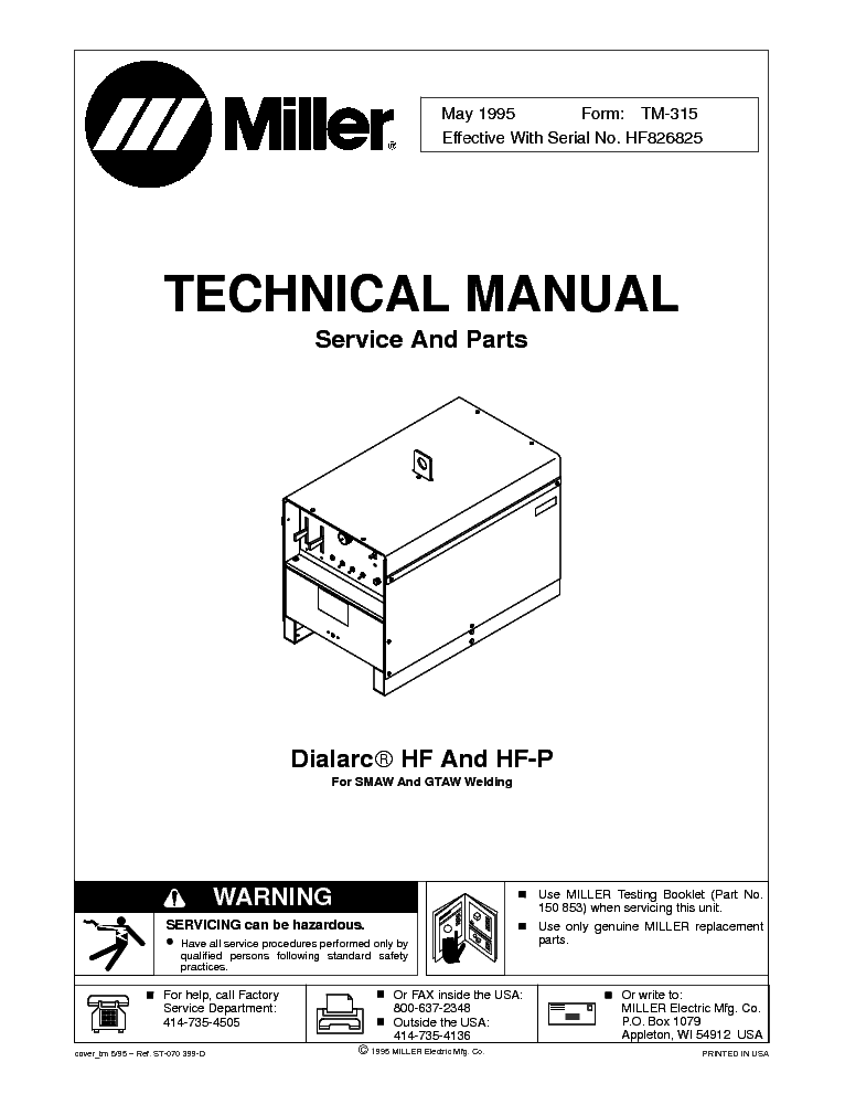 miller dialarc 250 hf manual the knownledge