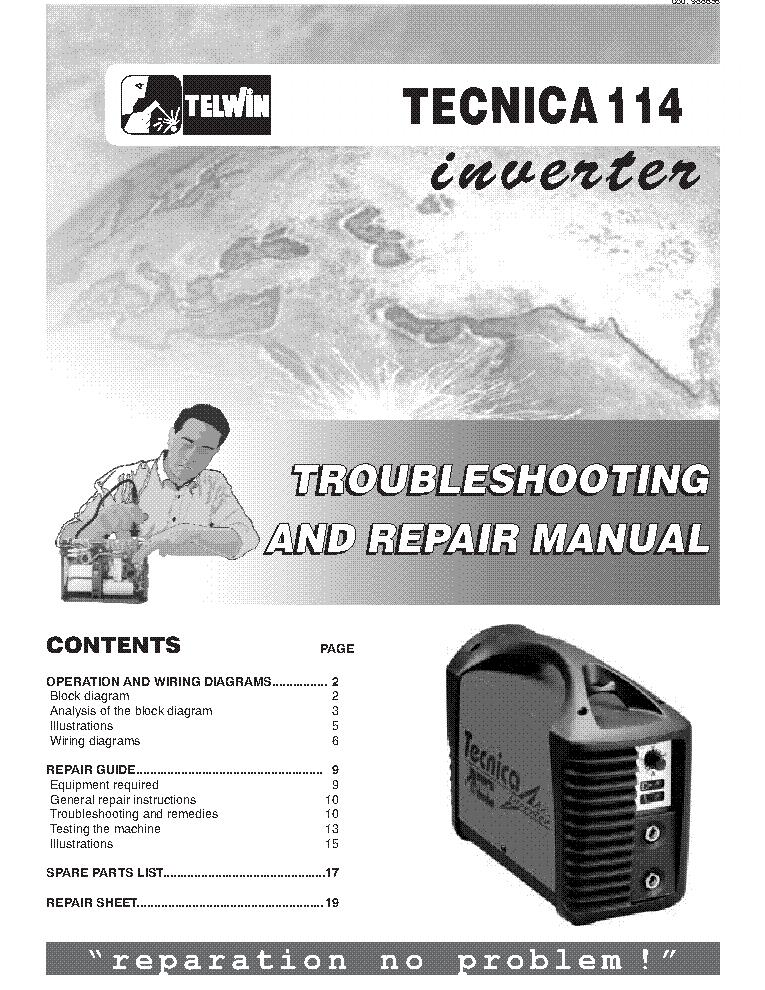 Telwin force 125 service manual
