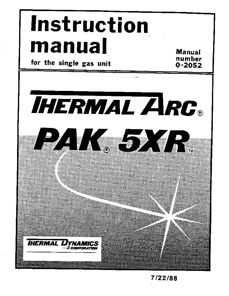 thermal arc pak 5xr eng im service manual download schematics rh elektrotanya com thermal arc pak 5xr plasma cutter manual thermal arc pak 5xr plasma cutter manual