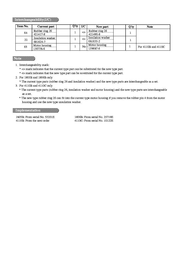 MAKITA 46217B-WW-1 Service Manual download, schematics, eeprom ... on