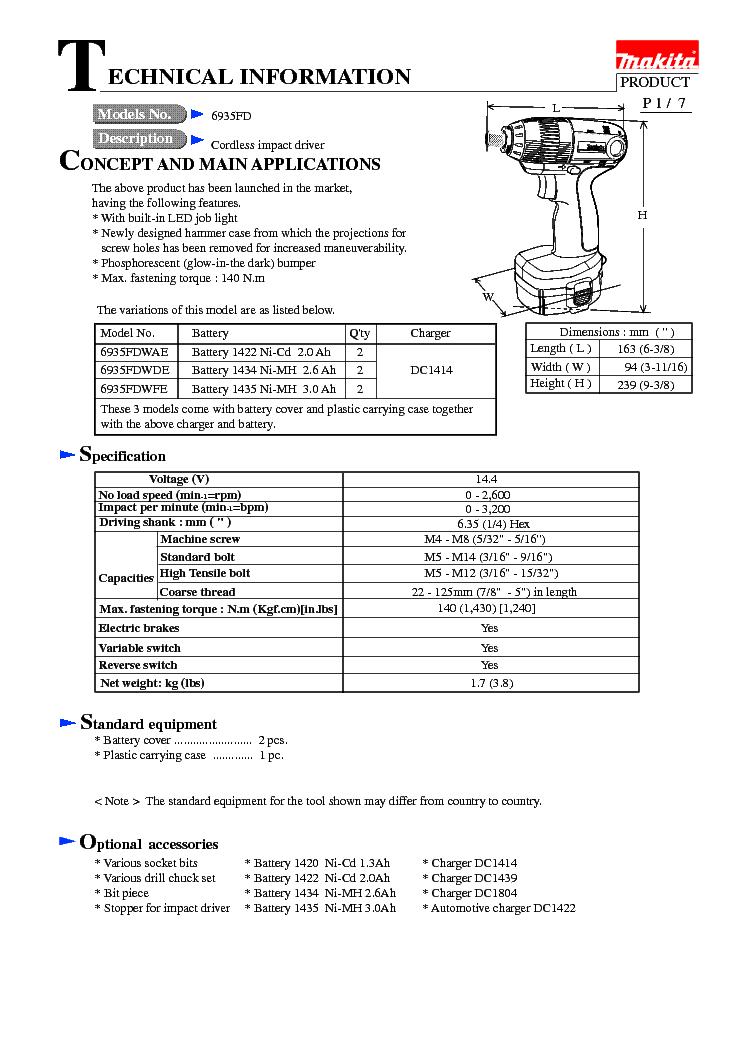 Makita dc1414 (mj) manual bkmanuals.