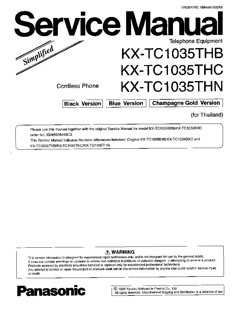Kx t2365 manual usuario