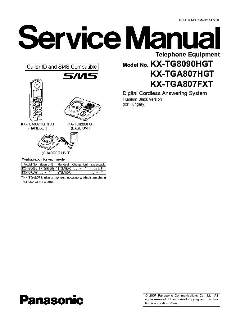 Panasonic Kx