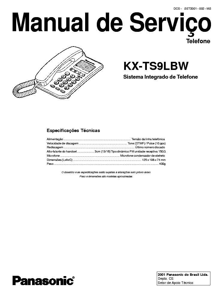 panasonic kx t7668 manual pdf