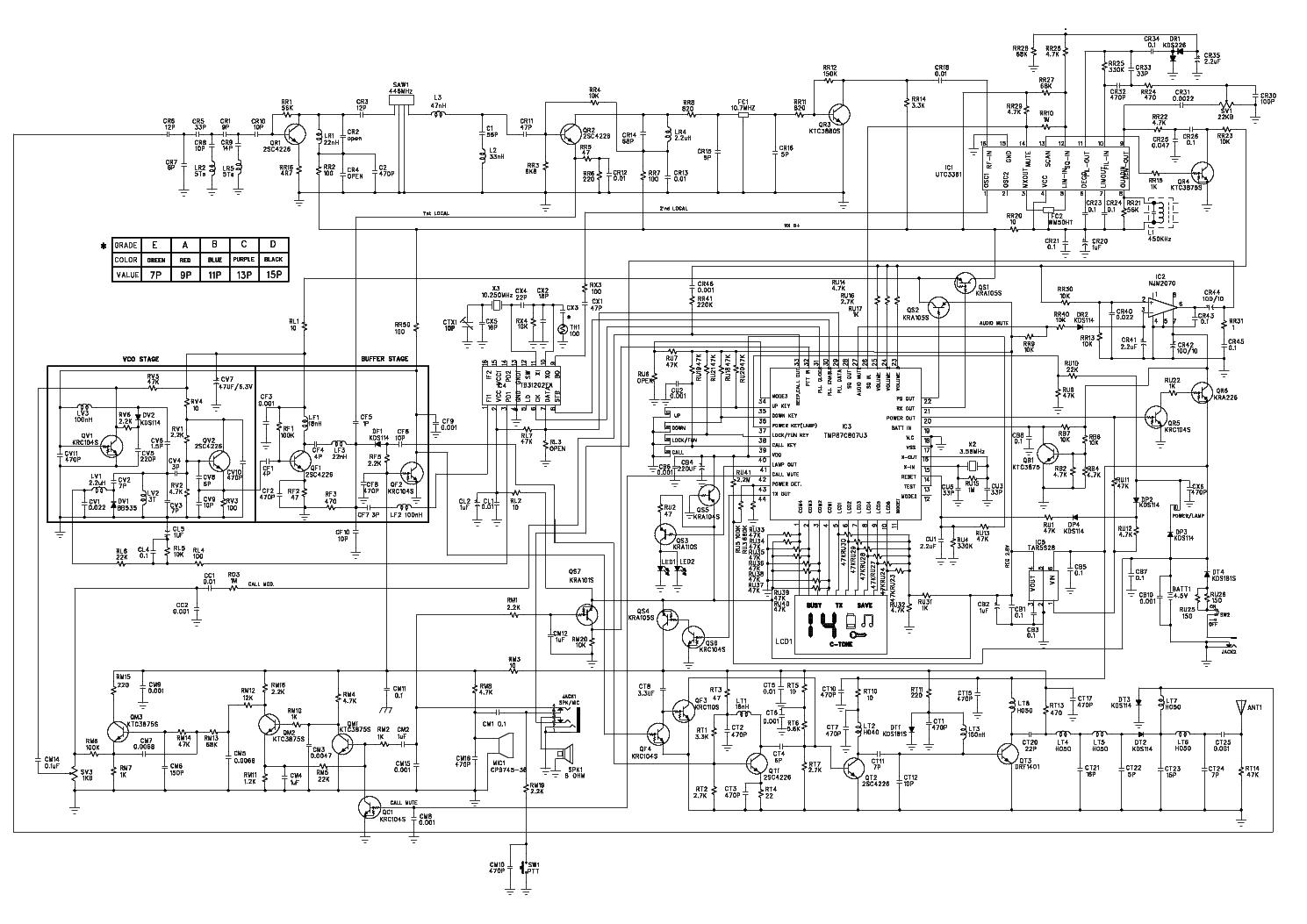 Alan 18 Service Manual Download  Schematics  Eeprom