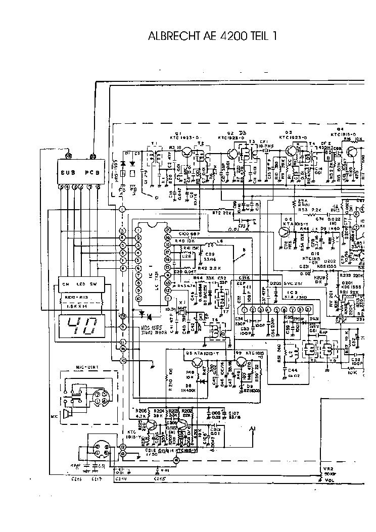 схема радиостанции альбрех 4200 мс они собирают