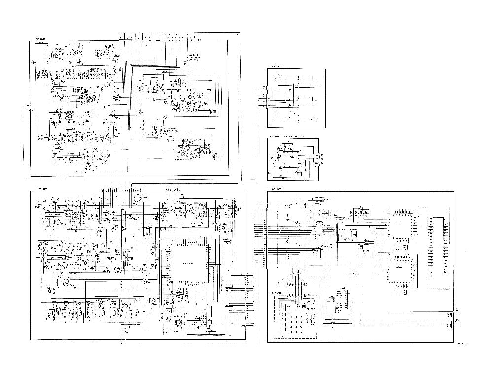 ALINCO DJ-580 TRANSCEIVER SCH Service Manual download, schematics ...