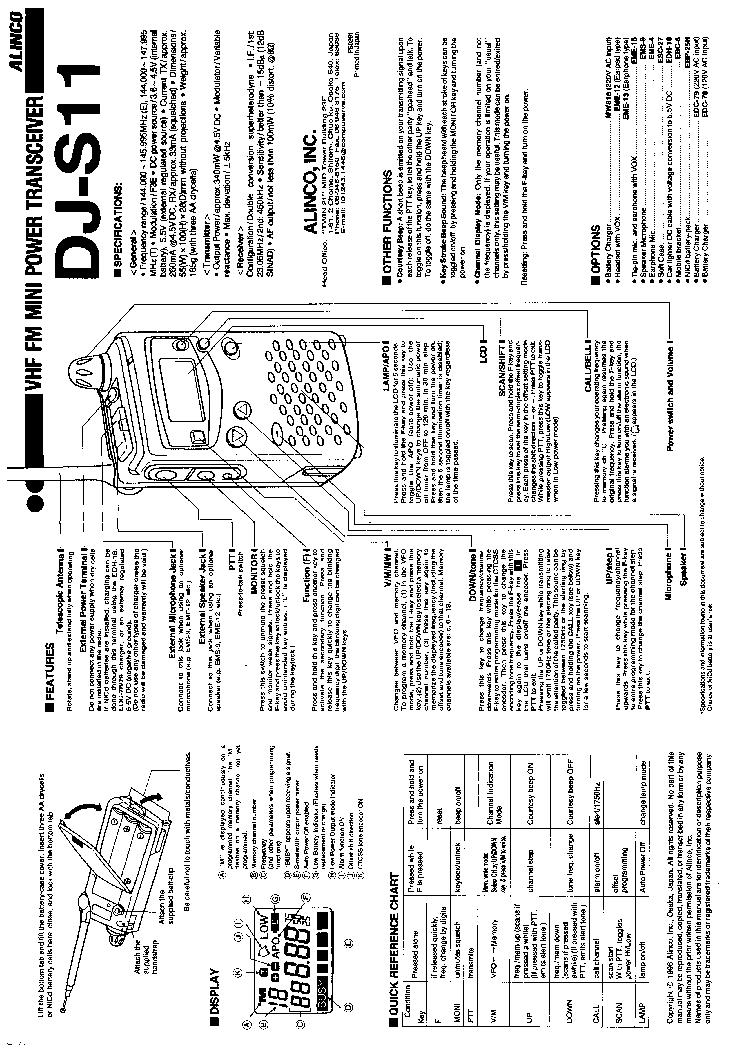 alinco dj s11 service manual download schematics eeprom repair rh elektrotanya com