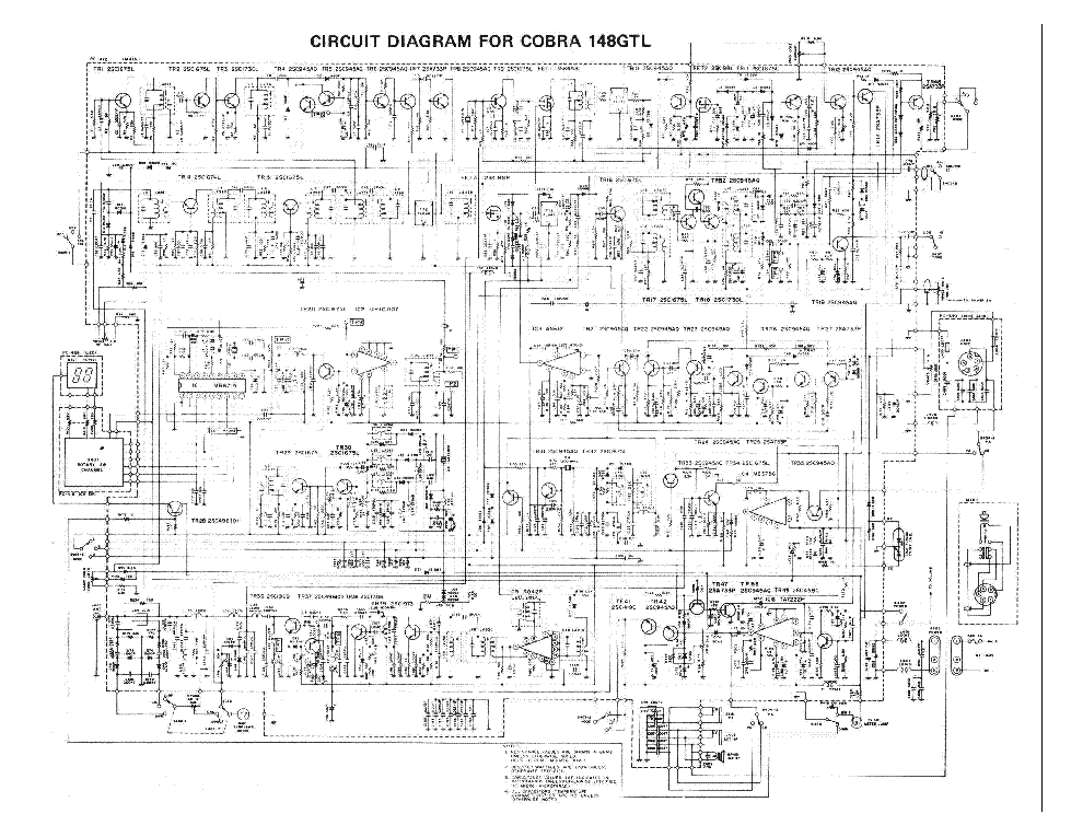 Co 148 Gtl Cb Radio Schematic Diagram  Wiring Diagram  Amazing Wiring Diagram Collections