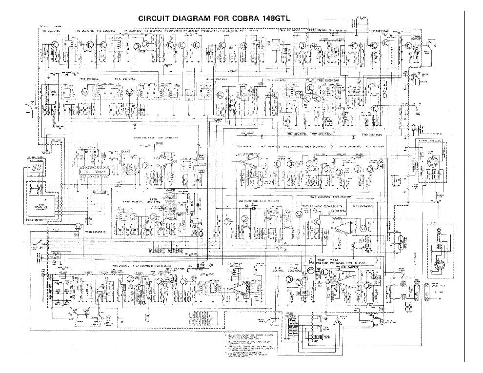 cobra 148gtl service manual download schematics eeprom repair rh elektrotanya com cobra 148f gtl manual cobra 148 gtl manual download