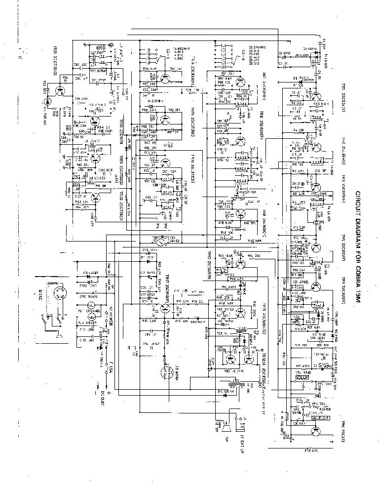 cobra 29ltd service manual free download  schematics