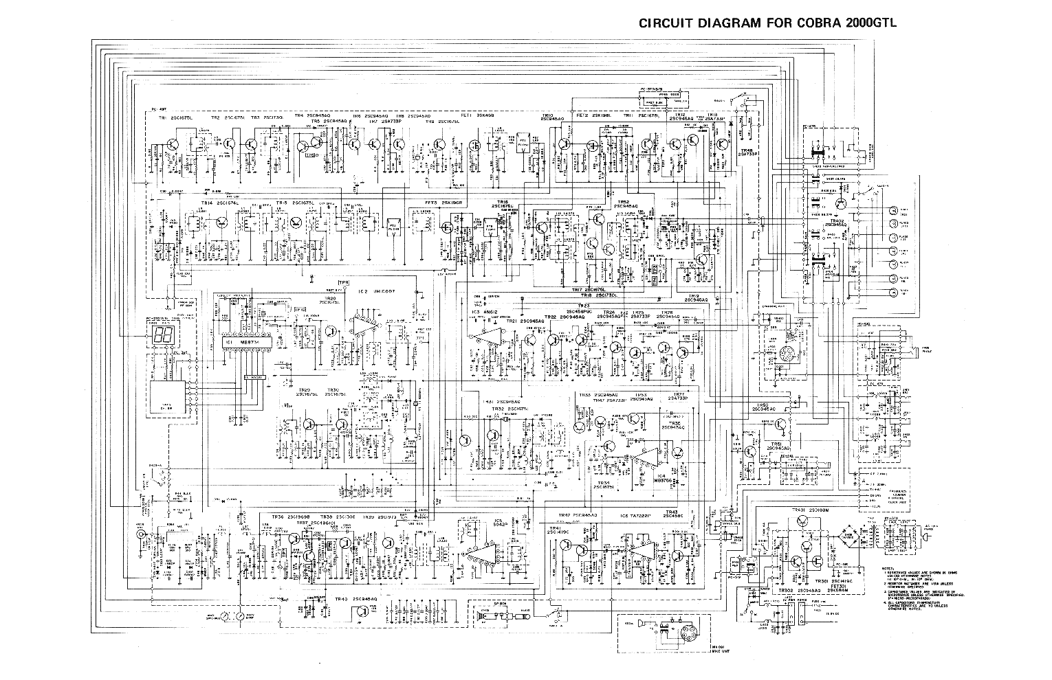 cobra 148gtl service manual download  schematics  eeprom