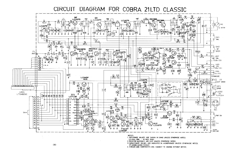 cobra 19dx iv sm service manual download  schematics