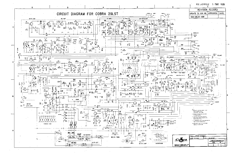 cobra 29 microphone wiring diagram