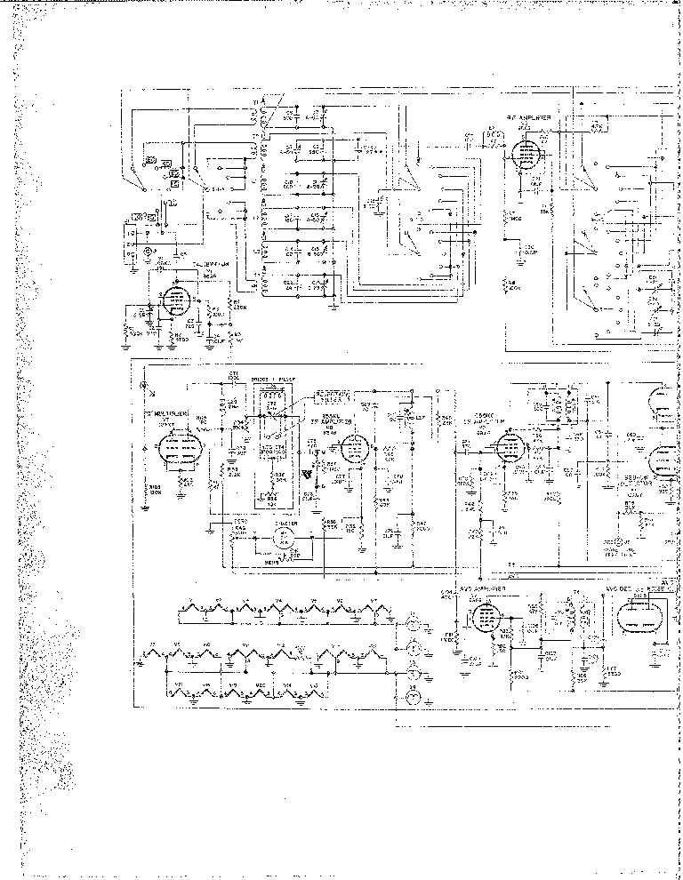 Hf Linear Amplifier Schematics