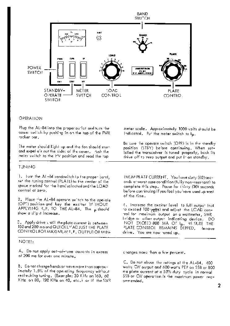 Ameritron Al-811 Manual Pdf