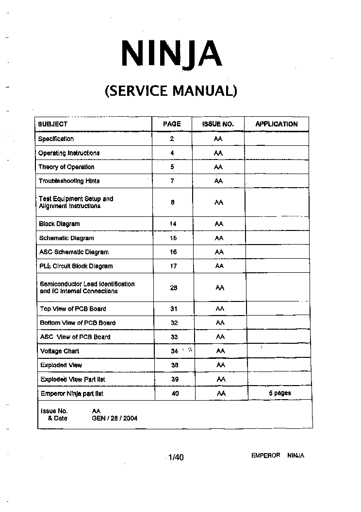 Kawasaki ninja 1000/z1000sx/abs service manual in pdf format   ebay.