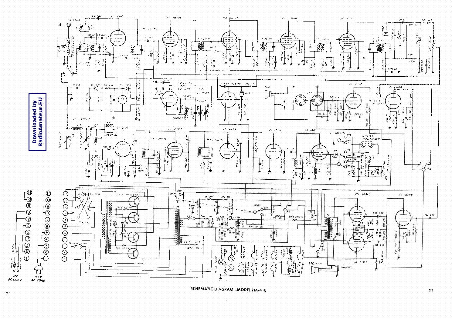 Lafayette Lms40 Service Manual Download Schematics Eeprom Repair Wiring Diagrams Ha410