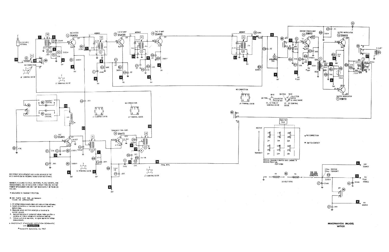 Magnavox Odyssey Schematic on