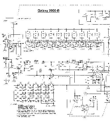 GALAXY-ELECTRONICS 2000-B SW LINEAR AMPLIFIER 1965 SCH Service ...