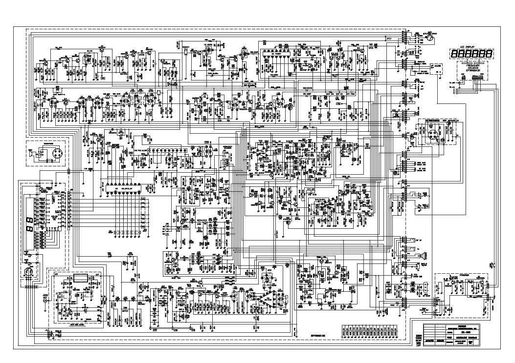GALAXY DX-959 MOSFET SCH Service Manual download, schematics, eeprom