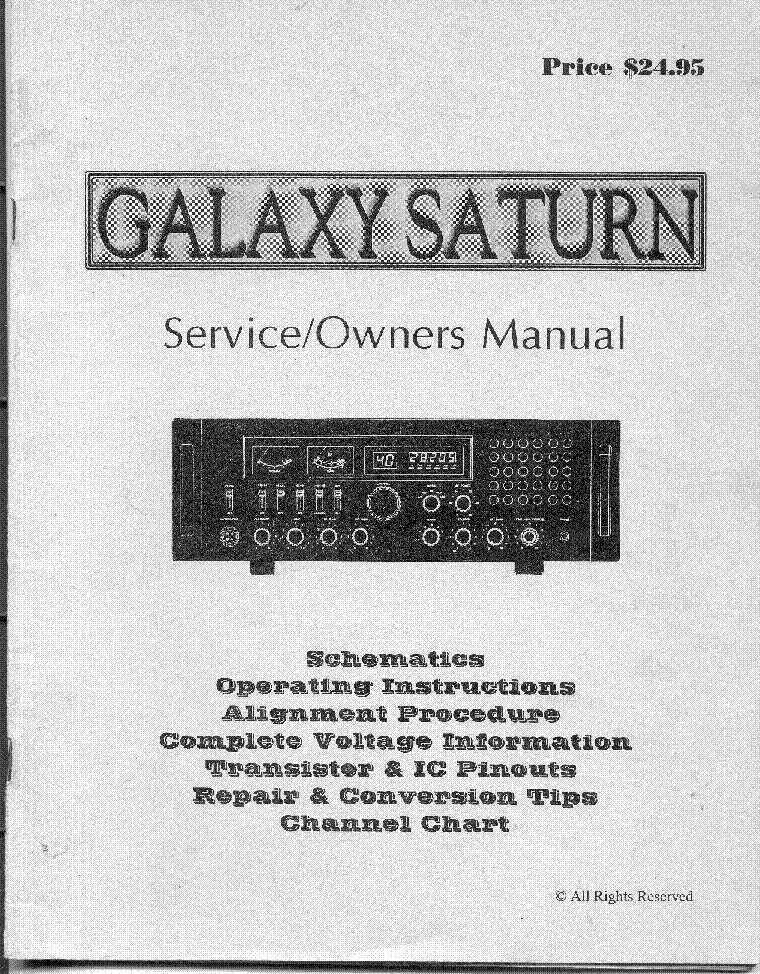 galaxy saturn service manual service manual download schematics rh elektrotanya com Schematics with Dimensions Saturn 5 Rocket Dimensions